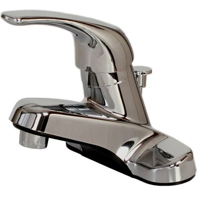 Centerset Faucet Single Handle with Drain Assembly