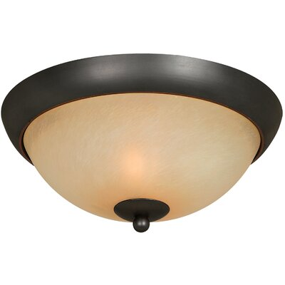 Berkshire 2-Light Flush Mount