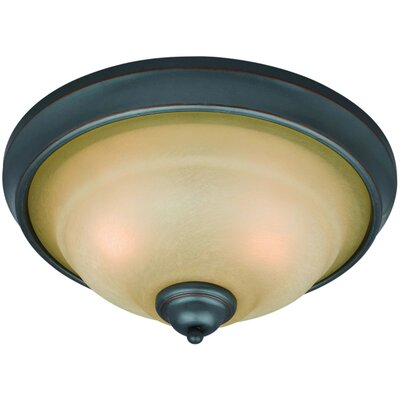 Palermo 2-Light Flush Mount