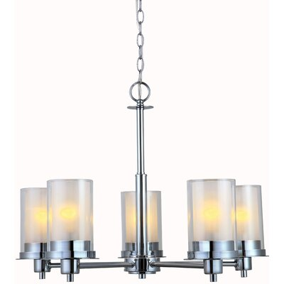 Bethea 5-Light Shaded Chandelier