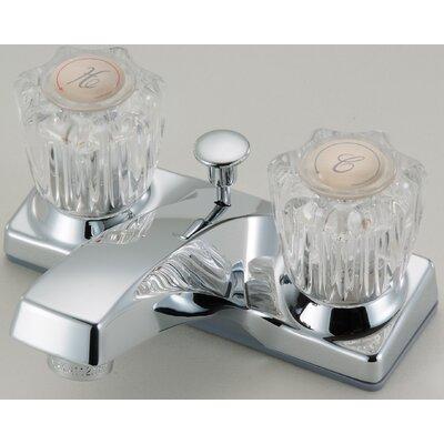 Lavatory Centerset Faucet Double Handle