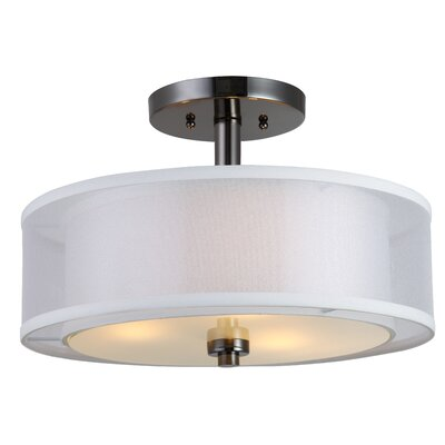 El Dorado 3-Light Semi Flush Mount