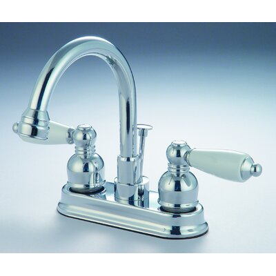 Standard Bathroom Faucet Double Handle Finish: Chrome