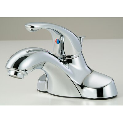 Lavatory Standard Bathroom Faucet Single Handle Finish: Chrome