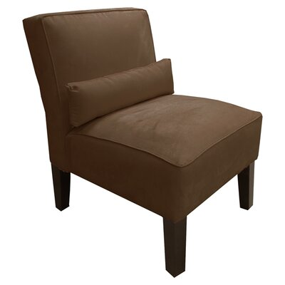 Thurston Slipper Chair Upholstery: Premier Chocolate