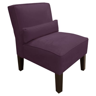 Thurston Slipper Chair Upholstery: Premier Purple