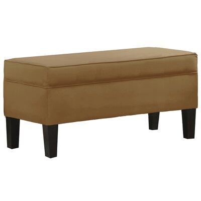 Microdenier Premier Storage Ottoman Upholstery: Saddle