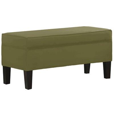 Microdenier Premier Storage Ottoman Upholstery: Sage