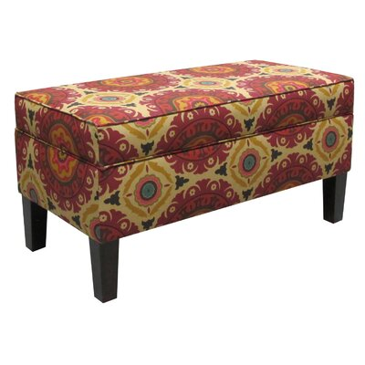 Vince Storage Ottoman Color: Solar Flair
