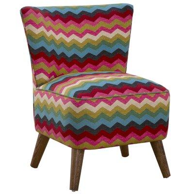 Mid Century Panama Wave Slipper Chair Color: Panama Wave Dessert Flower