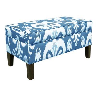 Himalaya Storage Ottoman Upholstery: Porcelain