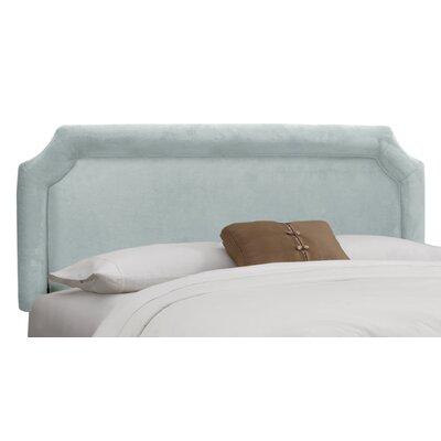 Velvet Upholstered Headboard Size: Full