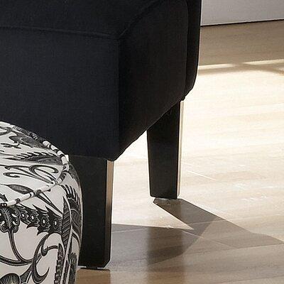 Thurston Slipper Chair Upholstery: Premier Black
