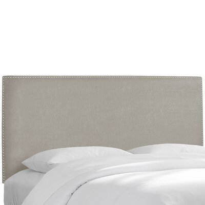 Napa Upholstered Panel Headboard Size: Queen