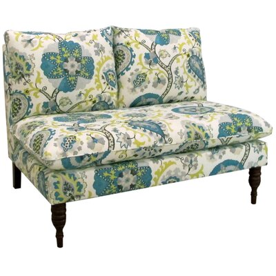 5106LDBPCC SKY11218 Skyline Furniture Ladbroke Settee Loveseat
