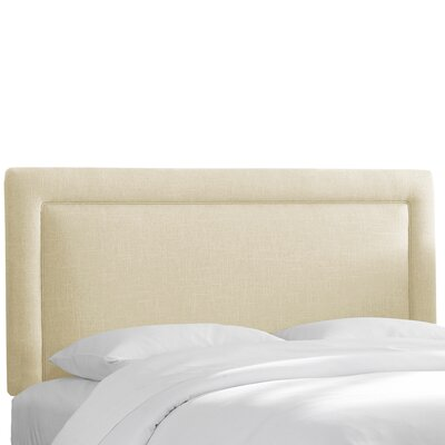 Chambers Upholstered Panel Headboard Size: Queen, Upholstery: Chalk