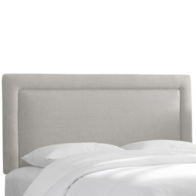 Napa Upholstered Panel Headboard Size: King