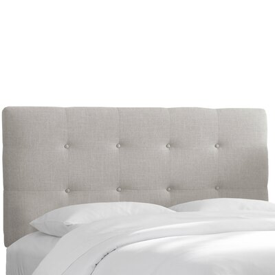 Napa Upholstered Panel Headboard Size: California King