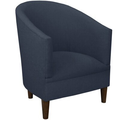 Diana Barrel Chair Upholstery: Linen Navy