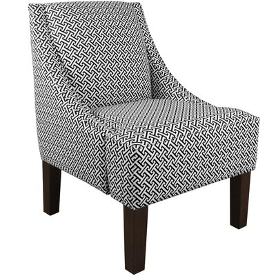 Goldhorn Armchair Upholstery: Cross Section Licorice, Nailhead Detail: No Trim