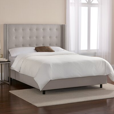 Duckworth Upholstered Panel Bed Size: California King