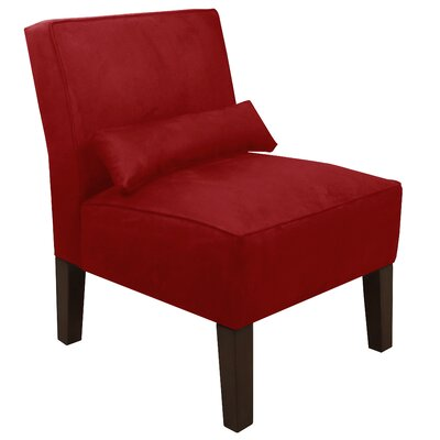 Thurston Slipper Chair Upholstery: Premier Red