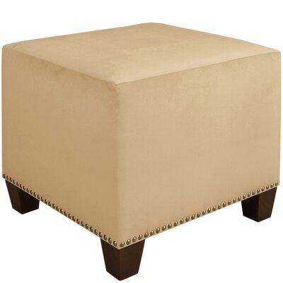 Cube Ottoman Upholstery: Buckwheat