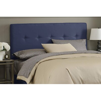 Skyline Furniture Button Tufted Upholstered Headboard - Size: Queen, Finish: Lazuli