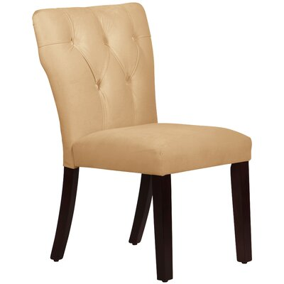Evelina Side Chair Upholstery: Buckwheat
