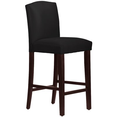 31 Bar Stool Upholstery: Black