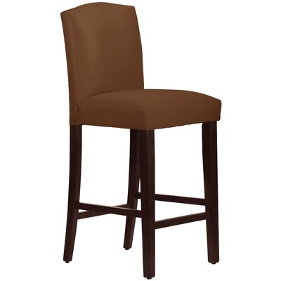 31 inch Bar Stool Upholstery: Chocolate