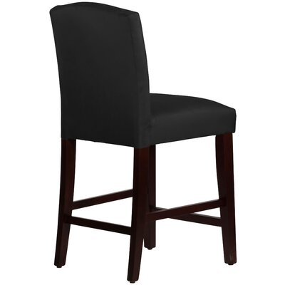 Premier Bar Stool Upholstery: Black