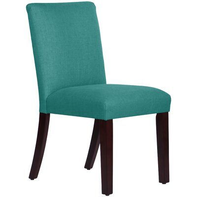 Upholstered Linen Uptown Side Chair Upholstery: Laguna