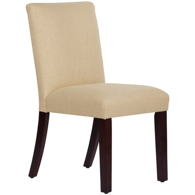 Upholstered Linen Uptown Side Chair Upholstery: Sandstone