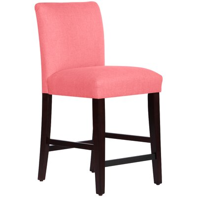 26 Bar Stool Upholstery: Coral