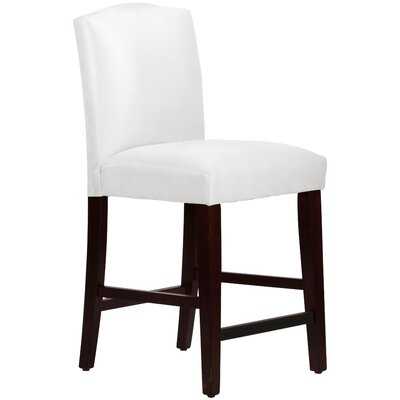 Premier Bar Stool Upholstery: White