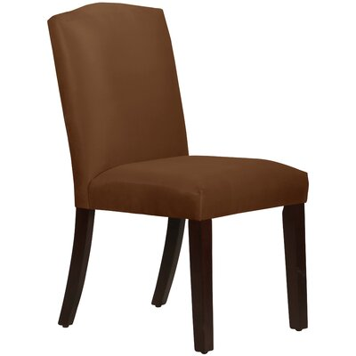 Premier Arched Side Chair Upholstery: Chocolate