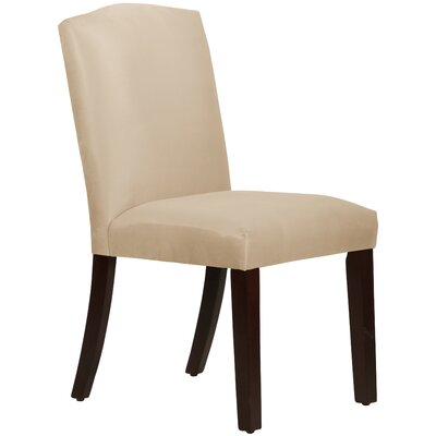 Premier Arched Side Chair Upholstery: Oatmeal