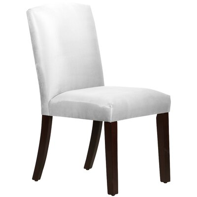 Premier Arched Side Chair Upholstery: White