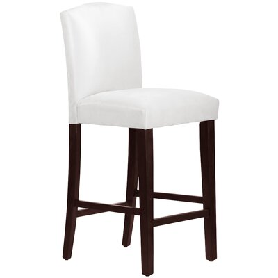 31 inch Bar Stool Upholstery: White