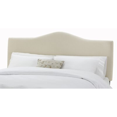 Easy financing Arc Upholstered Headboard Size: Cal...