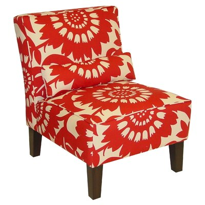 Skyline Furniture Cotton Slipper Chair - Color: Red at Sears.com