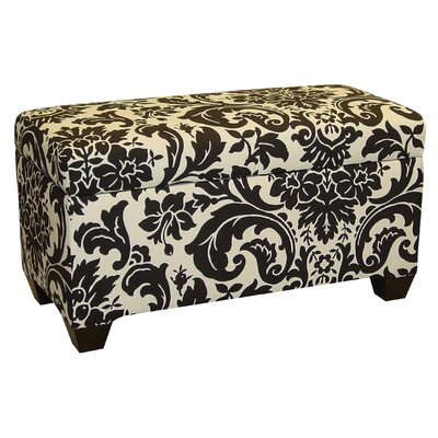 Skyline Furniture Cotton Storage Ottoman | Wayfair