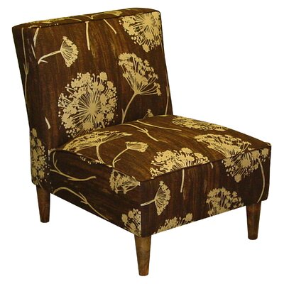 Skyline Furniture Fabric Slipper Chair - Color: New England's Lace Chocolate at Sears.com