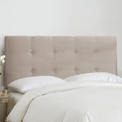Kirkinriola Tufted Upholstered Panel Headboard Size: King