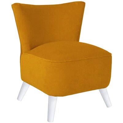 Upholstered Side Chair Upholstery: Antique Gold