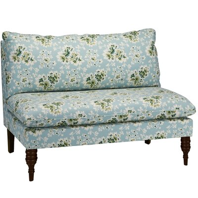 6106CCLSGRN SKY14643 Skyline Furniture Cecilia Armless Loveseat