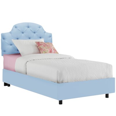 Upholstered Panel Bed Color: Duck Gazebo, Size: Full