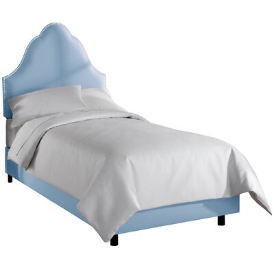 Upholstered Panel Bed Size: Twin, Color: Duck Gazebo