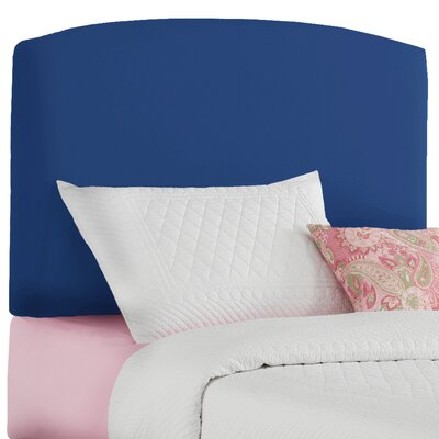 Twin Upholstered Panel Headboard Color: Duck Royal Blue